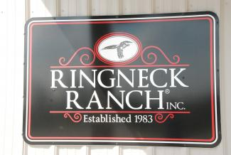Ringneck Ranch sign